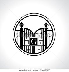 Find G Letter Vintage Fence Vector Logo stock images in HD and millions of other royalty-free stock photos, illustrations and vectors in the Shutterstock collection. Logo Branding, Brand Identity, Branding Design, Logos, Vector Logo Design, Lettering Design, Graphic Design, Gate Logo, Gate Design