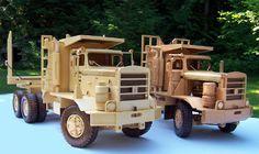1965 Hayes HDX Logging Trucks