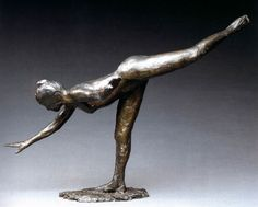 Edgar DegasDancer (Large Arabesque)1882-95, bronze,Musée d'Orsay, Paris