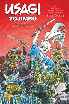 I love UY ! Its hard to believe this series has been around over 20 years! If they can make Kung Fu Panda they can make Usagi Yojimbo a movie too.