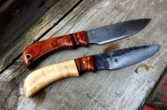 Custom Made Sheath Knives - Hand Forged, One Of A Kind