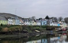 Roundstone, Co. Galway.  Location for the movie, The Matchmaker [1997]