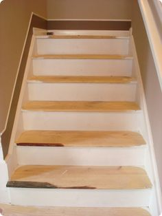 Thrifty Decor Chick: How To Take Carpet Off Stairs Home Remodeling, Home  Renovation,