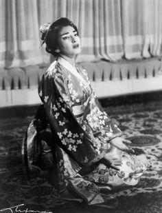 Madama Erfly 1955 La Divina Maria Callas Madame Opera Clical