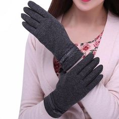 Buy Feitong Womens Touching Screen Gloves 2018 New Ladies Winter Warm Elegant Lace Splice Warm Gloves Mittens Cashmere Female gants Mitten Gloves, Mittens, Women's Gloves, Elegant Gloves, Warmest Winter Gloves, Cashmere Gloves, Driving Gloves, Texting, Style Fashion