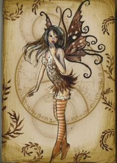 Fairies - wish I could look like this Fairy Woodland Creatures, Magical Creatures, Fantasy Creatures, Fairy Dust, Fairy Land, Fairy Tales, Gothic Fantasy Art, Gothic Fairy, Dragons