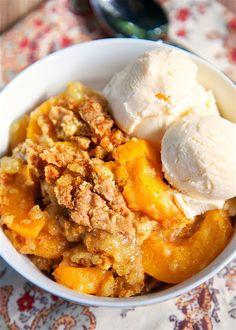 Peach Cobbler Dump Cake Really nice recipes. Every hour. Show me  Mein Blog: Alles rund um Genuss & Geschmack  Kochen Backen Braten Vorspeisen Mains & Desserts!