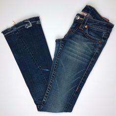 e60d8098e My True Religion Distressed Joey Flare Jeans Size 23 Blue Bellbottoms by True  Religion. Size