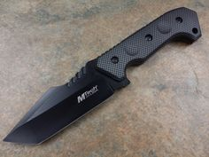 MTech Fixed Tanto Blade Tactical Fighting Survival Hunting Knife Brand New | eBay