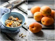 Raw Apricot Crumble - A tasty love story