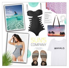 """""""Summer Swimsuit Style"""" by leinapacheco ❤ liked on Polyvore featuring Issa de' mar, Mikoh, Billabong, Samudra, John Robshaw, cutoutswimsuit and issademar"""