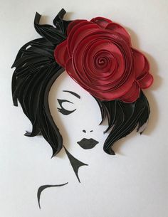 Paper Quilling Patterns, Quilled Paper Art, Quilling Paper Craft, Paper Crafts, Quilling Ideas, Diy And Crafts, Arts And Crafts, Ideias Diy, Paper Flowers