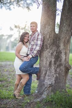 A sweet country engagement shoot
