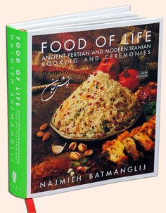 Wonderful Iranian Cookbook that has so many wonderful dishes. Healthy and tasty!