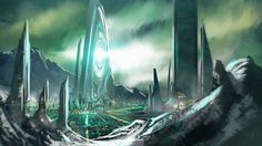 STORY IDEA: CONTROL PLANET 13 Artwork by Michael Gizienski.