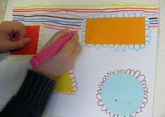 Les ponts ( autour d'une forme ) Morning Activities, Preschool Activities, Pre Writing, Writing Skills, Grande Section, Naive Art, Art Graphique, Creative Kids, Painting For Kids