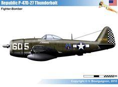 P-47D-27 Thunderbolt
