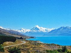 Lake Pukaki on the way to Mt. Cook  The color of the lake is indescribable.  The mountain is calling we must go.... #nz #newzealand #mtcook #hiking #mountains #lake #travel #js2travel #iphonephotography #iphoneonly #instagram #instadaily #landscape #outdoors #explore #nature #紐西蘭 #新西兰 #旅行 #山 #自然 #風景 #instapic #travelphotography #instatravel #naturelovers #lake #photooftheday #nationalparks #roadtrip Iphone Photography, Travel Photography, The Mountains Are Calling, Insta Pic, New Zealand, Road Trip, National Parks, Hiking, Journey