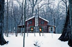 Patrick McGuire's sensitive renovation of his family's 1917 log cabin preserved one of the few remaining original buildings along this stretch of the Menominee River.