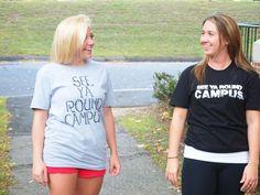 Unisex See Ya Round Campus T-shirts! On sale now! #tshirts #clothing #college #campus #seeyaroundcampus