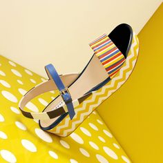 "Fratelli Rossetti, launch of footwear limited range ""Stripes on design"""