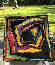 ARCYDZIEŁA RĘKODZIEŁA, Kapa lub dywan szydełkiem samymi półsłupkami