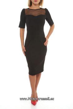 Designer Buero Kleid Aliciana Schwarz