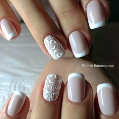 Best French Manicures - 71 French Manicure Nail Designs - Best Nail Art #DIYManicure