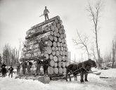 Logging in Upper Michigan 1890's