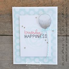Stampin' Dolce: Project Life Birthday Card - GDP035