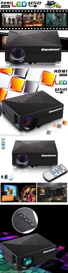 Smartphone Projector - Home Theater Projectors: 3200 Lumen Led Projector Hd 1080P Home Theater Cinema For Smartphone Tablet Pc -> BUY IT NOW ONLY: $67.99 on eBay!