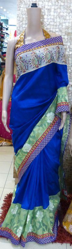 Trisha designer saree