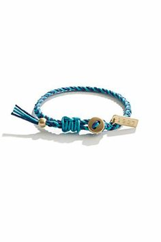 inspiration from Madewell for a DIY friendship bracelet