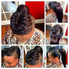 Vous êtes en panne d'idées? Vous ne savez pas quel style donner à votre tête? Bonne nouvelle, La Blackeuse a sélectionné pour vous 07 coiffures, de quoi vous inspirer.     01.          02.          03.          04.          05.          06.