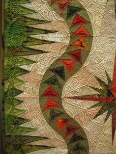Flying geese border by sherry - such a cool border