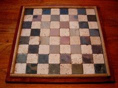 How to Make a Stone Chess Board