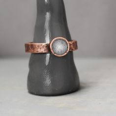 Copper Selenite Ring