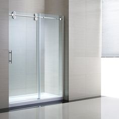Jacuzzi Bel 27 In To 58 2 In W X H Frameless Sliding Shower Door Lowe 39 S Canada