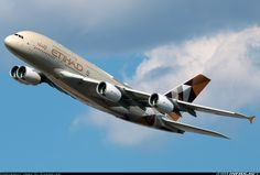 Airbus A380-861 - Etihad Airways | Aviation Photo #3974229 | Airliners.net