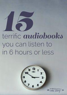 audiobooks under 6 hours