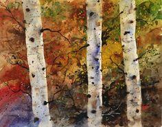 AUTUMN TREES - The Art of Dean Crouser