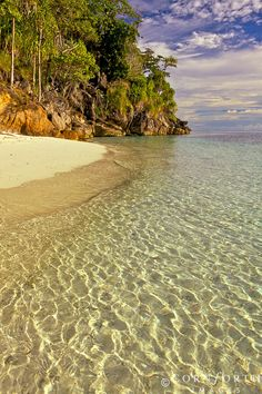 Marit's Beach, Misool, Raja Ampat, Indonesia