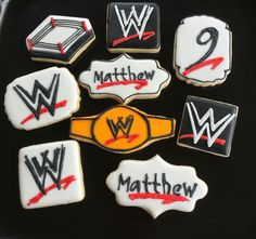 Wwe Personalized Party Favor Goody Bags Jays Party