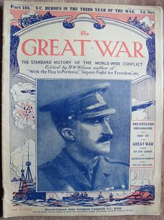 John Vaughn Campbell VC  THE GREAT WAR by old school paul, via Flickr