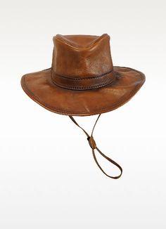 Genuine Leather Hat - Pratesi Guardarropas d5b993d8d12