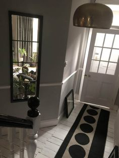 How I gave the internal windows in my home a Crittall style makeover. - Kerry Lockwood - In Detail Crittall, Kitchen Doors, Windows, Living Room, Wall, Furniture, Detail, Google, Home Decor