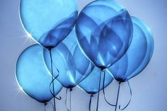 Barry's Photo Blog: #633. Baby Blue Balloons
