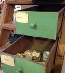 Old Chemists drawers