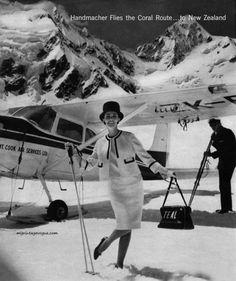 Tasman Empire Airways Limited (TEAL) & Handmacher Fashions 1963