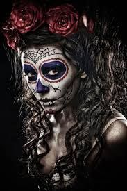 Image result for how to create a scary skull with latex